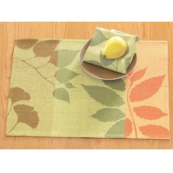 Welcome autumn into your home with our Autumn Leaves Jacquard Table Linen Collection. Made of 100% cotton, this collection will help to add a sophisticated touch to your home. Consider table runner, napkin and placemat for a complete presentation. Ea