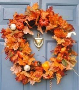 Autumn wreath.