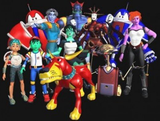 Reboot Cartoon Family Portrait!