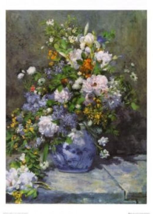 Grande Vaso di Fiori (Large Vase with Flowers) by Renoir