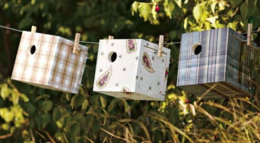 box birdhouses