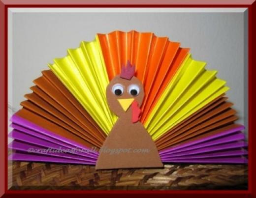 turkey-lens-origami-paper