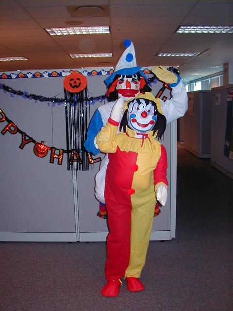 2002 winner - conjoined clowns