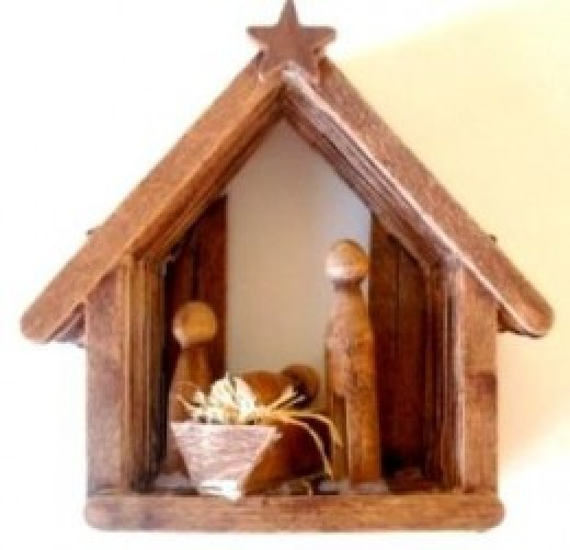 40 Christmas Craft Ideas To Try This Year: 40 Beautiful Nativity Craft Ideas