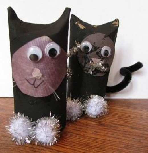 Paper Roll Tube Crafts on 12 Outstanding Octopus Crafts For Kids