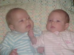 Two babies means double diapers!