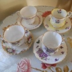 My Vintage Teacup Collection
