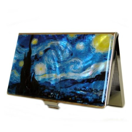 "If someone you love is a fan of art, they might enjoy a case with Vincent Van Gogh's ""Starry Night,"" or another famous work of art."