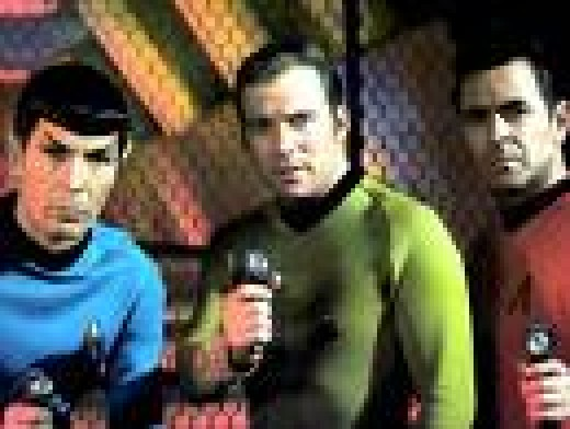 William Shatner, Lenard Nimoy and James Doohan
