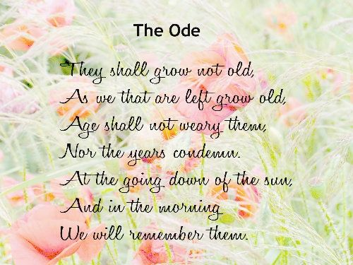 The Ode