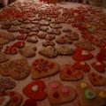 Bee My Valentine cookies