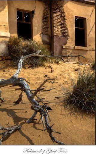 Kolmanskop Ghost Town by D Woollacott
