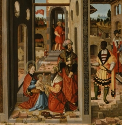 Adoration of the Three Kings - by William Stetter 1546