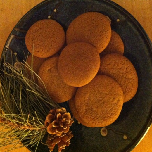 molasses cookies soft chewy