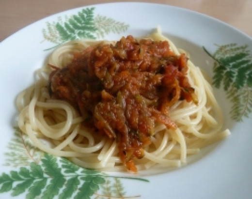 vegetarian spaghetti for kids