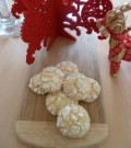 Fennel and Anise Snowy Crinkle Cookies