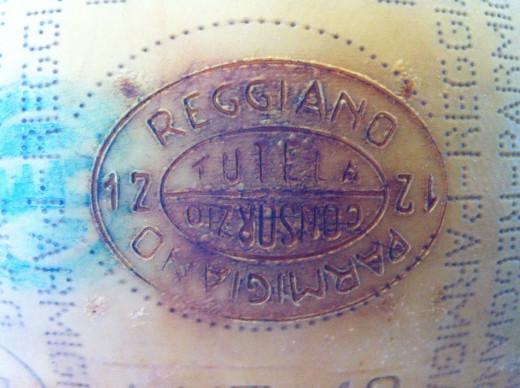 Parmesan-Reggiano Brand