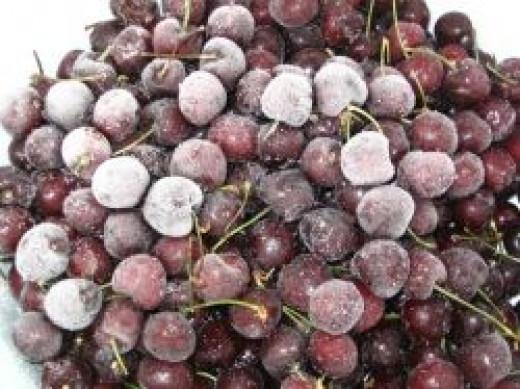 frozen cherries