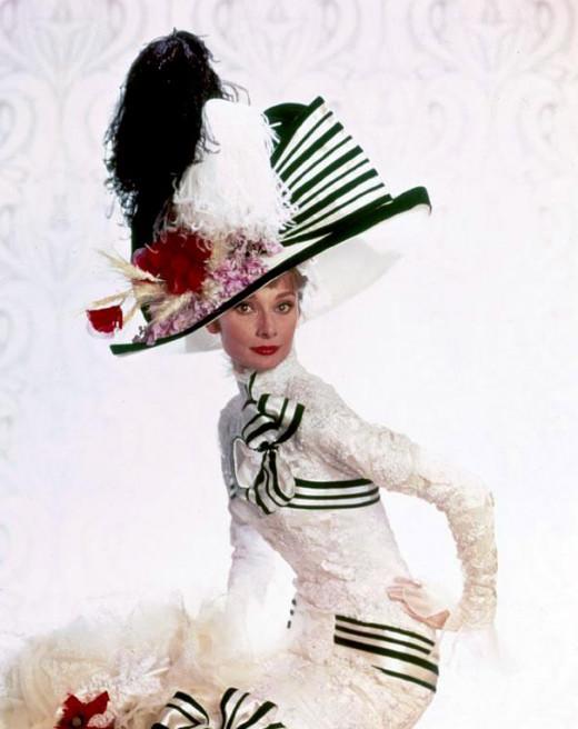 Audrey Hepburn as Eiza Doolittle