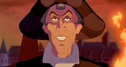 Disney's Judge Claude Frollo voiced by Tony Jay
