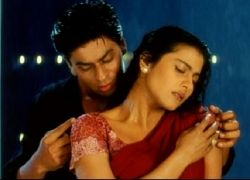 Shahrukh and Kajol in Kuch Kuch Hota Hai
