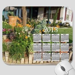 Colorful Garden 2012 Calendar Mousepad