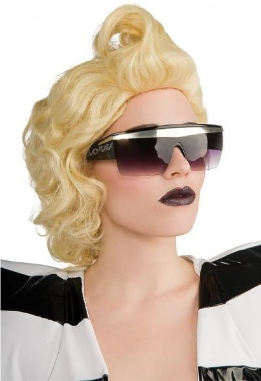 Lady Gaga Official Glasses
