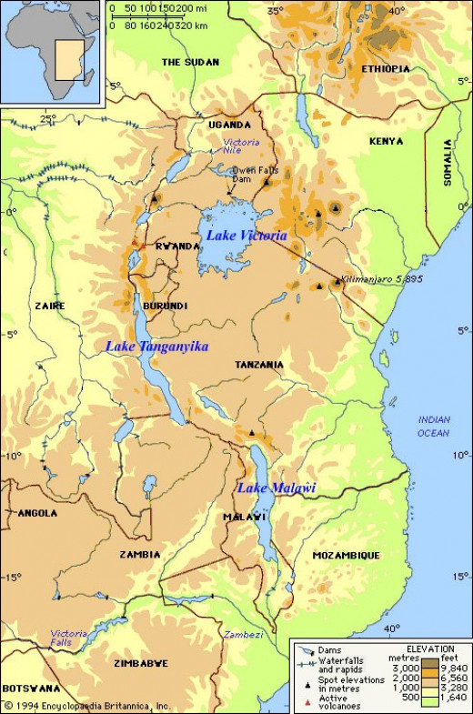 The African Great Lakes