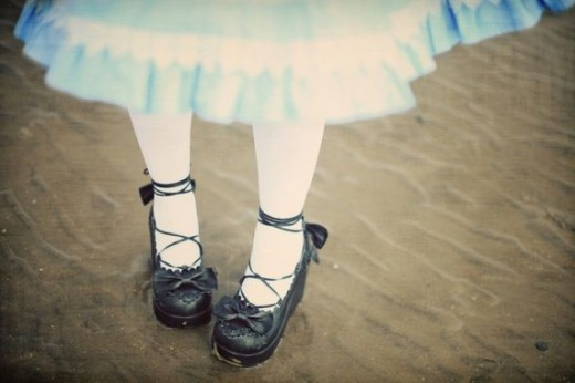 Gothic Shoes Alice In Wonderland