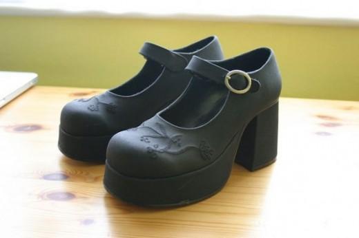 Gothic Lolita Platform Shoes