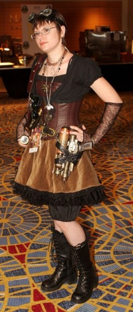Steampunk Boots and Steampunk Costume