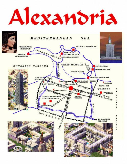 Map of Alexandria City