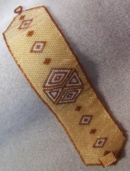 Diamonds and Triangles Cuff Bracelet