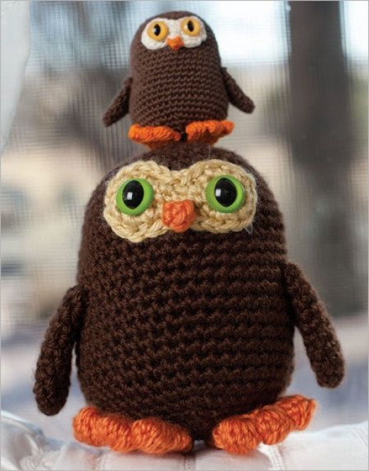 Free Crochet Pattern For Owl Toy : Free Crochet Toy Patterns