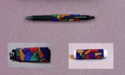 Stained Glass Accessory Set