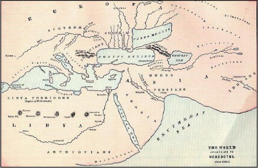 The world according to Herodotus