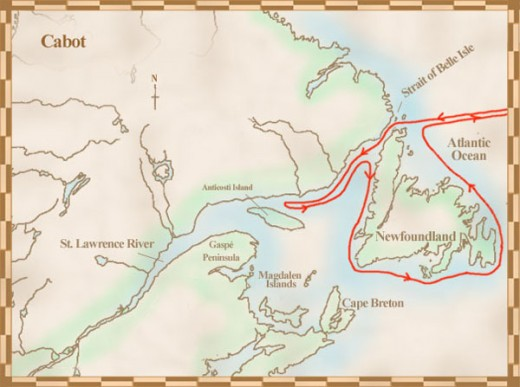Cabot Voyages to Canada - 1497