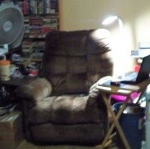 My brown recliner