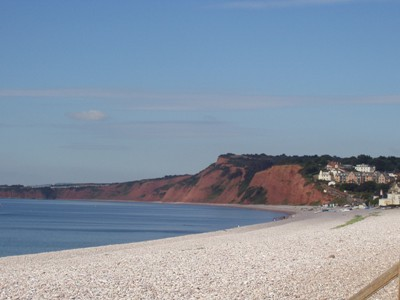 Red Cliffs at Budleigh Salterton