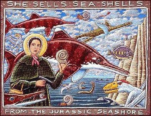 She sells Sea Shells on the Seashore