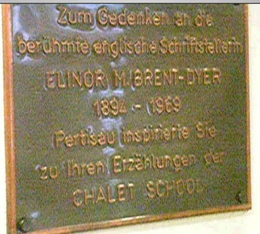 Plaque - Pertisau, Austria