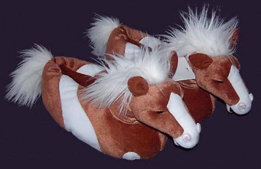 Horse Slippers