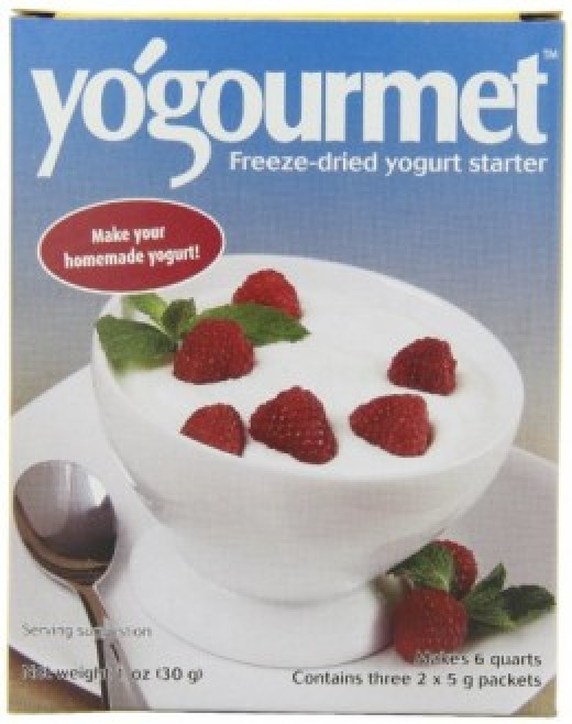 Yogourmet box cover
