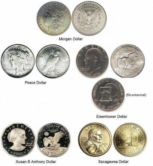 Twentieth Century Dollar Coins