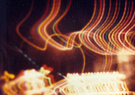 Vancouver Lights filmed by Dorothy Izatt with an 8mm camera