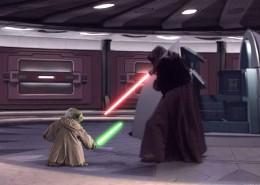 Yoda v The Emperor (Darth Sidious)