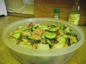 Easy Potato And Salmon Salad is ready to serve