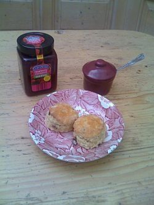 Serve Your Scones With Jam And Cream