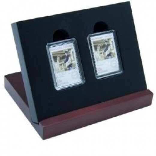 Coin and stamp set