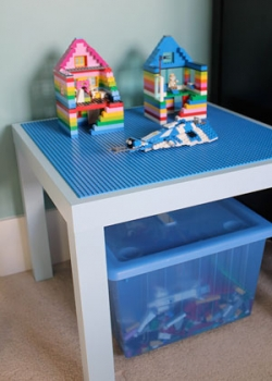 Fast and Easy Make Your Own Small Lego Table